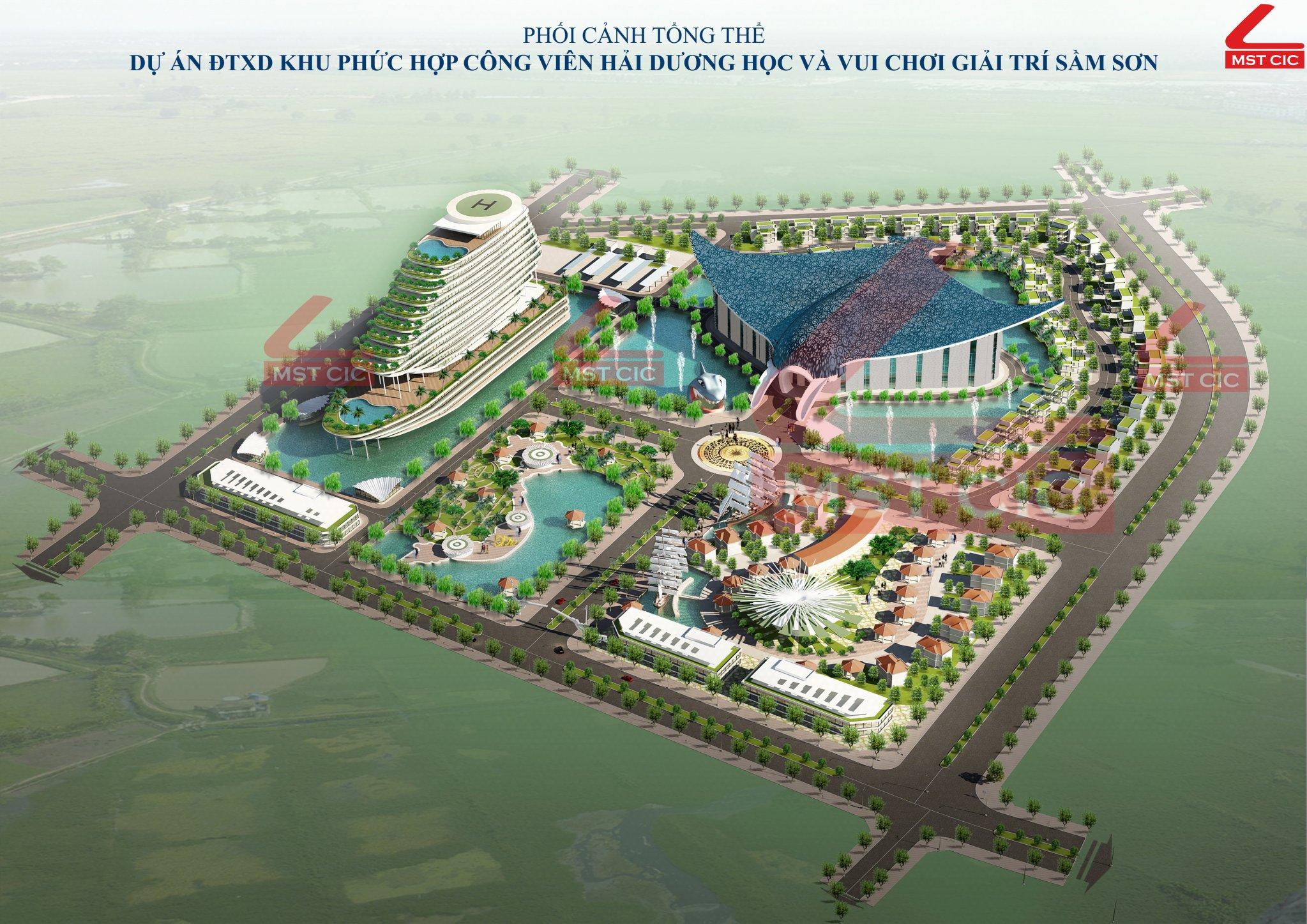 Dự án Khu phức hợp công viên Hải dương học và vui chơi giải trí Sầm Sơn